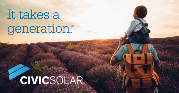 CivicSolar - It Takes a Generation