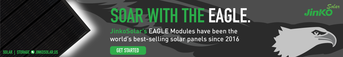Learn More and Shop JinkoSolar's Eagle Modules Now!