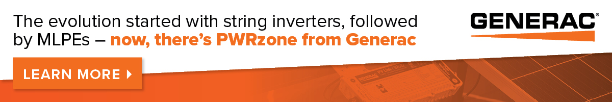 Learn more about the Generac PWRzone now!