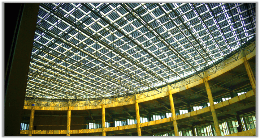 Sunpreme Solar Atrium Covered Roof