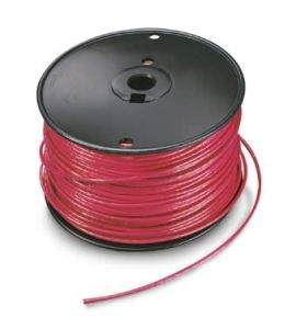 #10 AWG 600V Red Double Jacketed PV Wire 1 ft