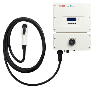 SolarEdge HD Wave w/ EV Charger Image