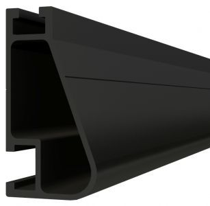 IronRidge XR-100-132B Black Anodized 11' Rail 1pc