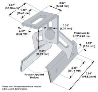 S-5! ProteaBracket for Trapezoidal Roofs (M10 Compatible)