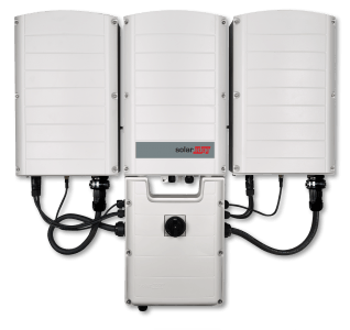 SolarEdge Large Three Phase Inverter Image