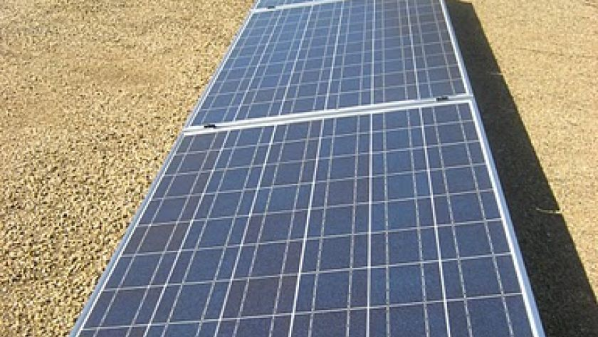Enphase MicroInverter 1.3kW on Flat Roof