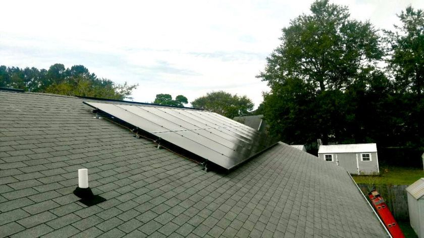 5kW Flush Roof Install