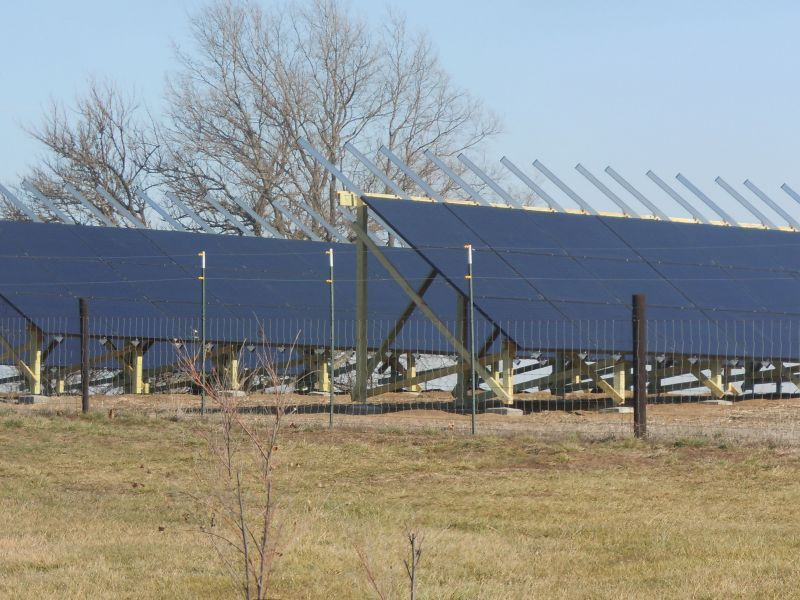 24 kW New Virginia, IA Ground Mount Solar Project