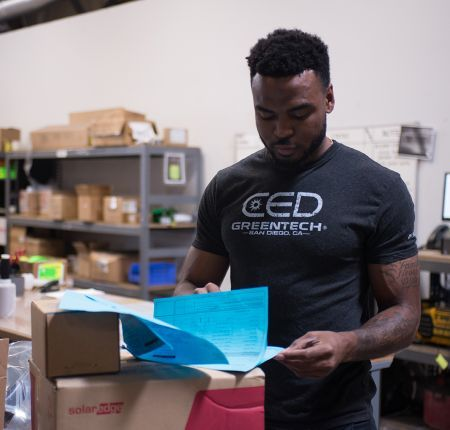 CED Greentech Operations Employee