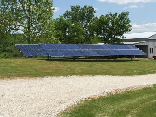 Completed 20kW Array