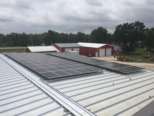 30kW Commercial Metal Rough Install