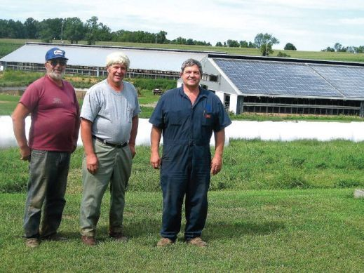 260kW Hope Valley Farm Solar Barn Project