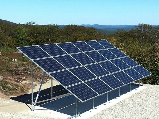 6 kW Off Grid Remote Mountain Top Installation