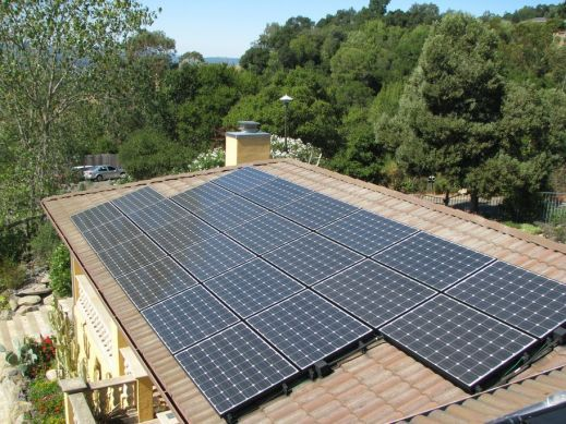 Healdsburg 5kW Grid Tied on S-Tile Roof