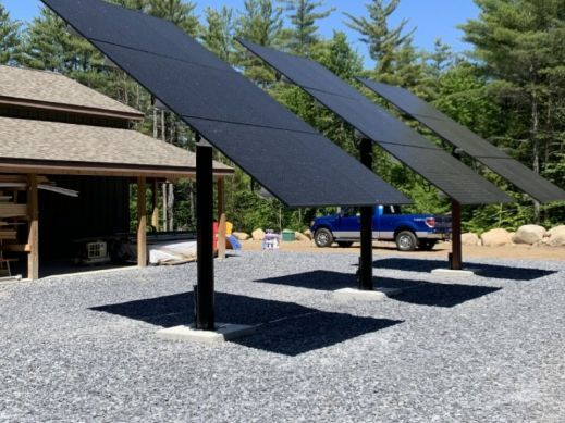 8.6 kW Off-Grid Ground Mount PV System