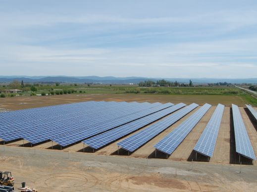 1.2 MW Marysville Rice Dryer Solar Installation