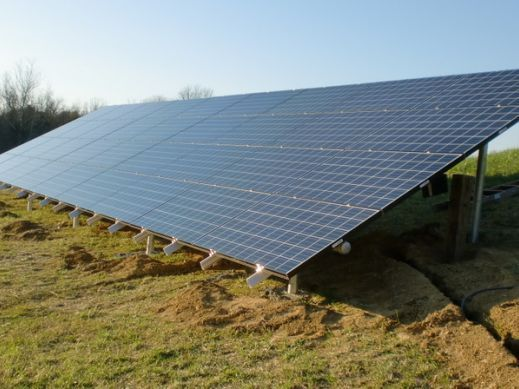 Successful Installation Shining Under Solar