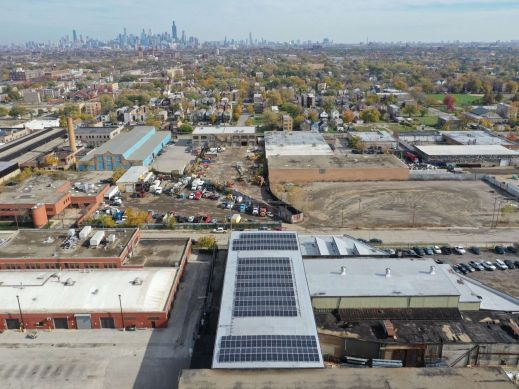152.25 kW Commercial Installation in Chicago, IL