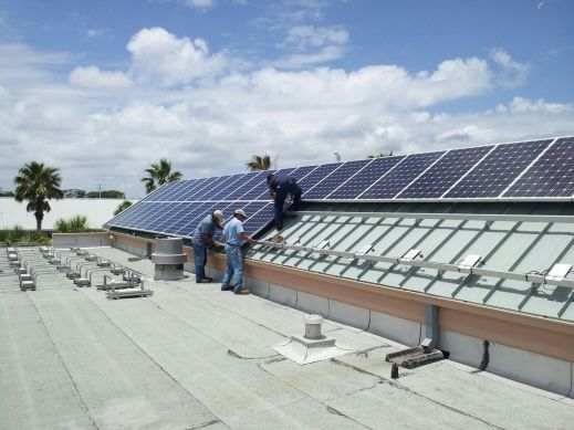 37 kW Neptune Beach City Hall Solar Installation