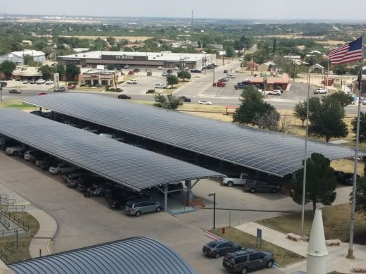 1.3 MW Big Spring Texas Veteran's Admin