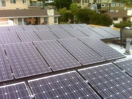 Sanyo 215A Solar Residential Install