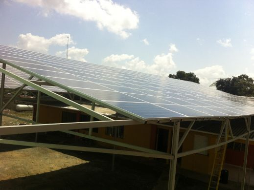 134 kW La Vega, Dominican Republic Ground Mount Solar Array
