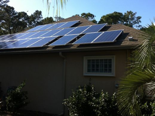 9.2 kW Ormond Beach FL Astronergy Install