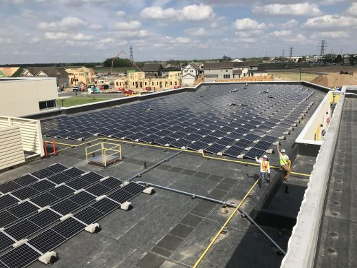 Inspire Elementary Rooftop Array