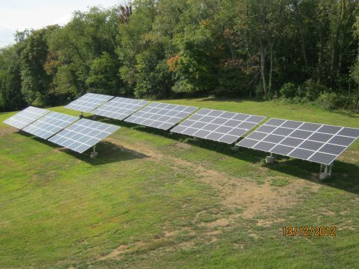 36 kW Oakdale Ground Mount Solar Installation