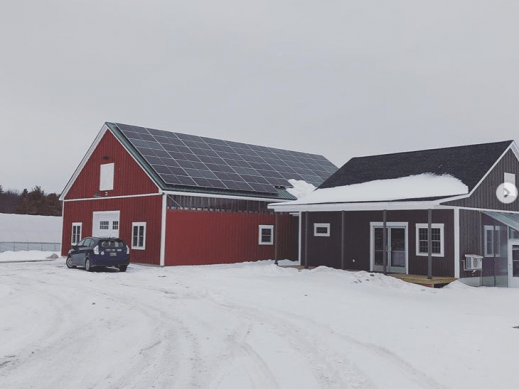 Solar Barn Array