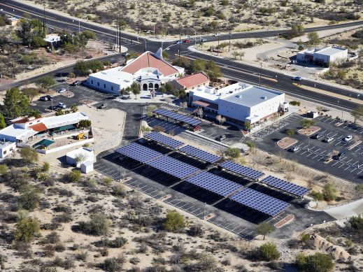 150 kW Oro Valley, Arizona Solar Carport