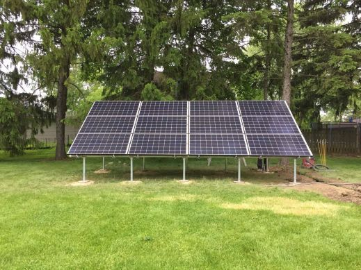 Illinois Solar, Ground Mount, Westmont Solar, Chilicon