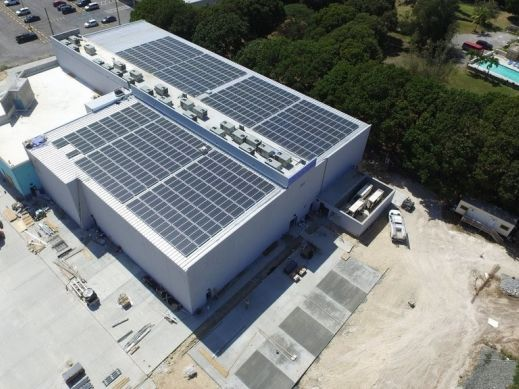 St Croix USVI Solar plus storage Cinema Project
