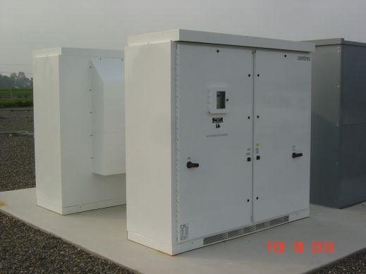 Central Solar Inverter with Enclosure