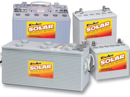 Deka has a wide offering of solar batteries