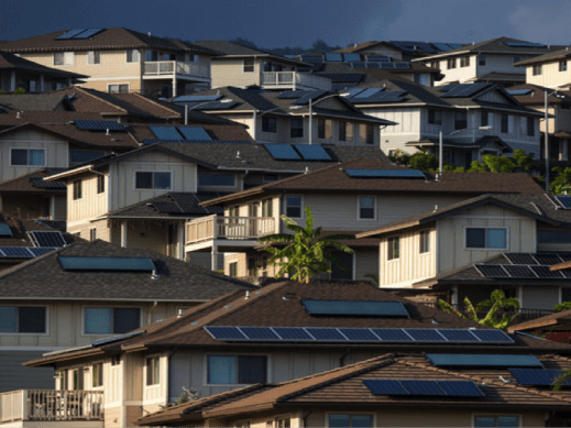Solar PV is very popular across the Hawaiian Islands
