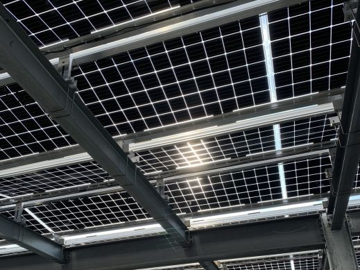 BiFacial Solar Array
