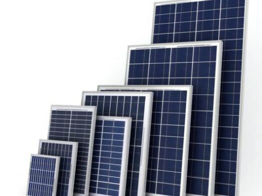 Solar panels varry in wattage