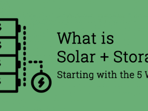 What is solar + Storage?