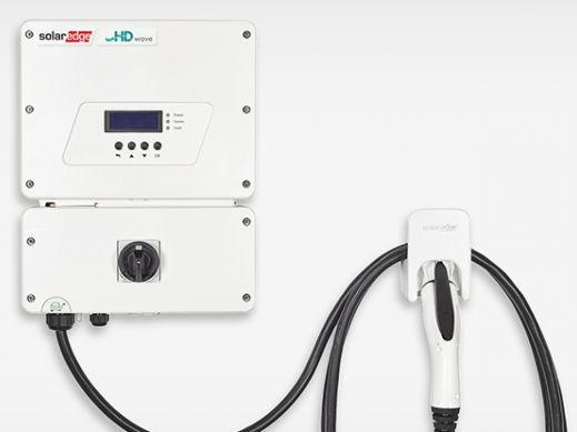 SolarEdge HD-Wave inverter with integrated EV charger offers homeowners the ability to charge electric vehicles up to six times faster than a standard Level 1 charger through an innovative solar boost mode that utilizes grid and PV charging simultaneously.