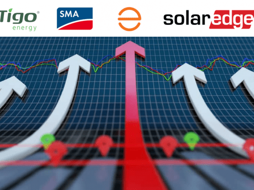 MLPE solar inverter technology enphase solaredge sma power+