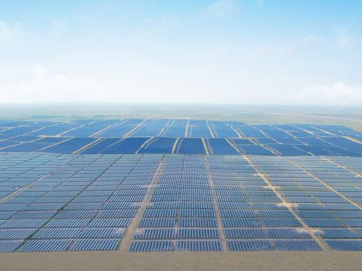 1GW Ground-mounted Smart PV Plant in Ningxia, China