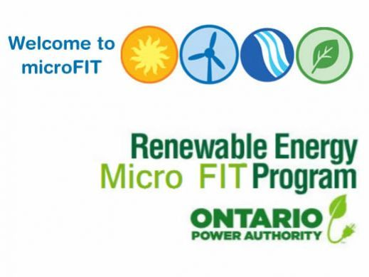 Ontario MicroFIT Program Overview