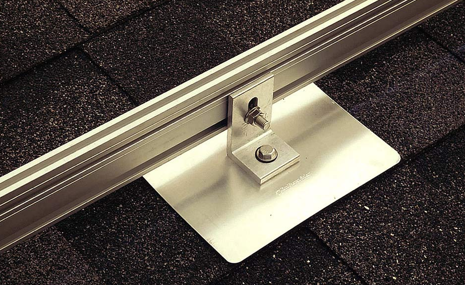 Installing Mounting Feet and Brackets for PV | CivicSolar