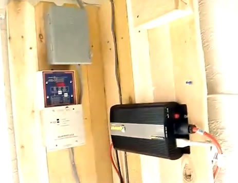 Home Solar Panel charge controller and inverter