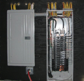 Specialty Distribution Panel for Battery-Based System | CivicSolar